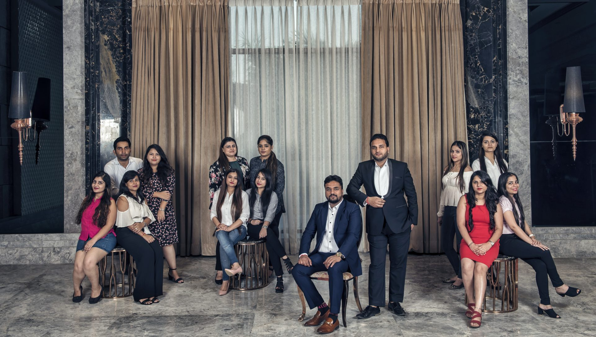 Acanthus' team of architects, designers and project managers