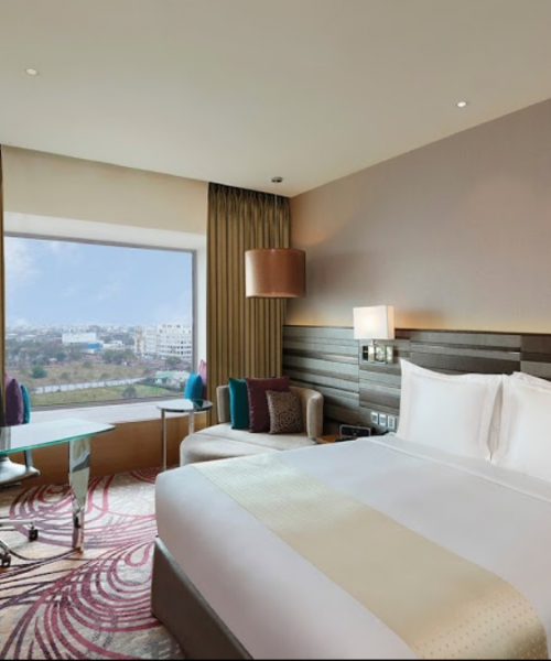 Hospitality Projects - Premium Hotel room shown - Best Architecture Consultants in Delhi NCR